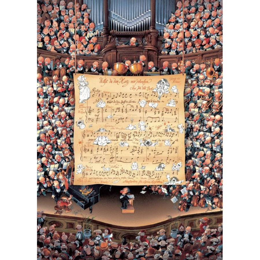 Het orkest - Loup - puzzel van 1000 stukjes-1