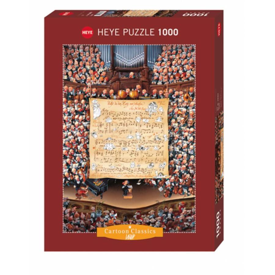 Het orkest - Loup - puzzel van 1000 stukjes-2