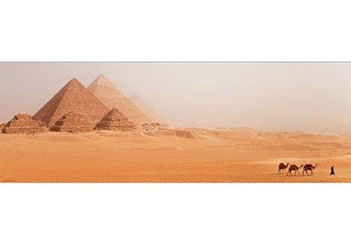 The pyramids - 1000 pieces - panorama