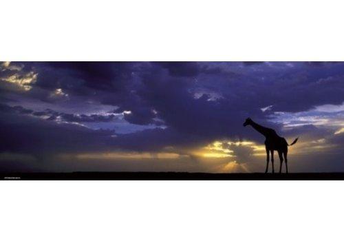 De zonsondergang - 1000 stukjes - panorama