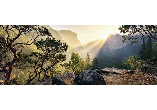 Parc Yosemite - 1000 pièces panorama
