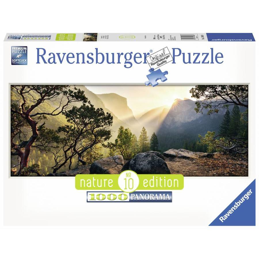 Yosemite Park - puzzle de 1000 pièces panomarique-2