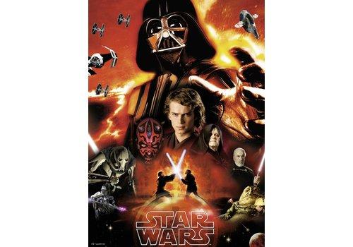 The dark side of Star Wars - 1000 pieces