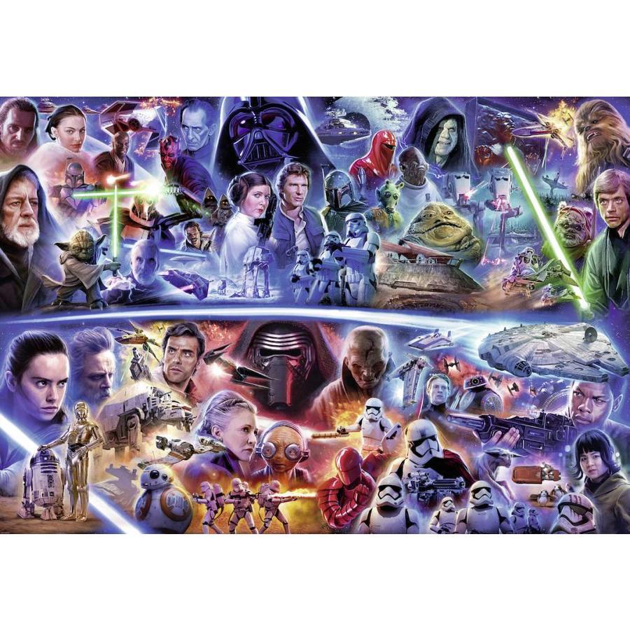 Star Wars - 18.000 stukjes - Galactische tijdsreis-1