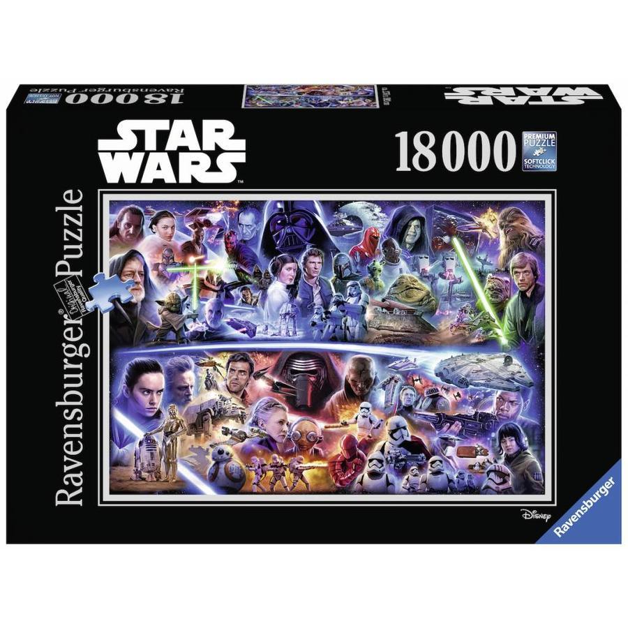 Star Wars - 18.000 stukjes - Galactische tijdsreis-2
