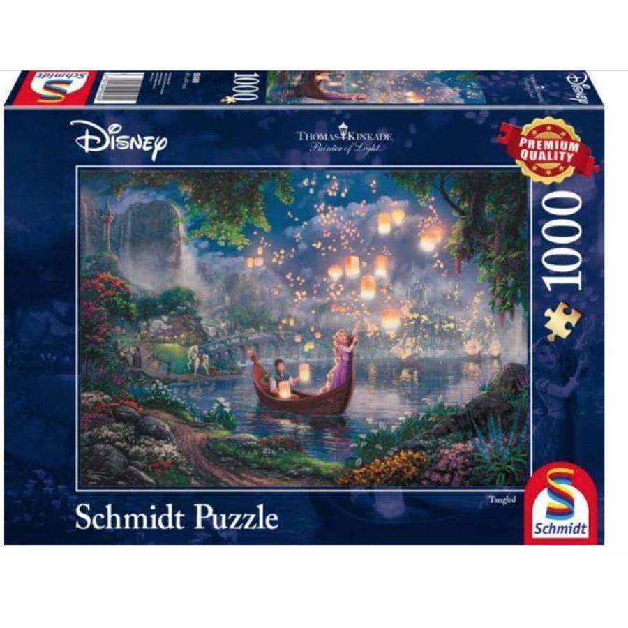 Rapunzel - Thomas Kinkade - puzzel van 1000 stukjes-2