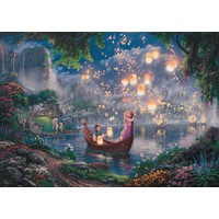 thumb-Rapunzel - Thomas Kinkade - puzzel van 1000 stukjes-1