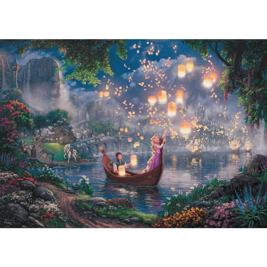 Rapunzel - Thomas Kinkade - puzzel van 1000 stukjes-1