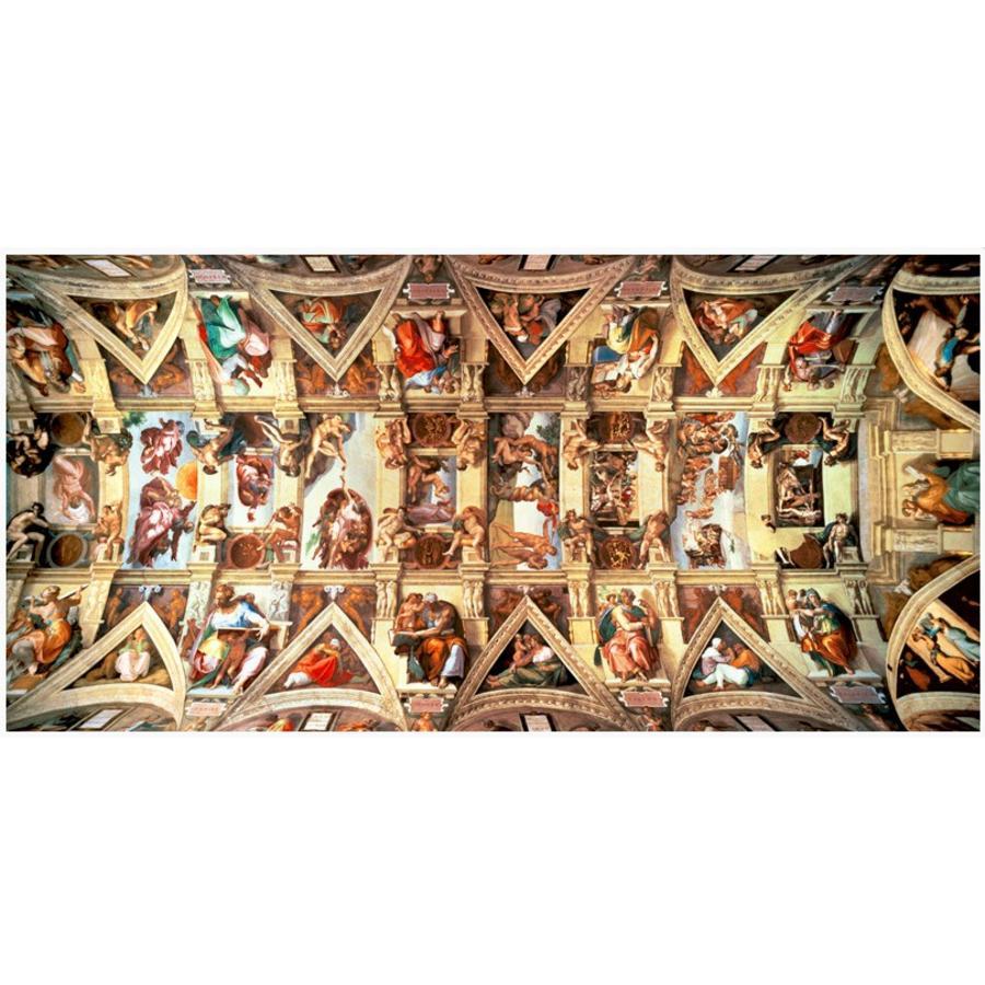Sixtijnse Kapel -  puzzel van 18000 stukjes-1