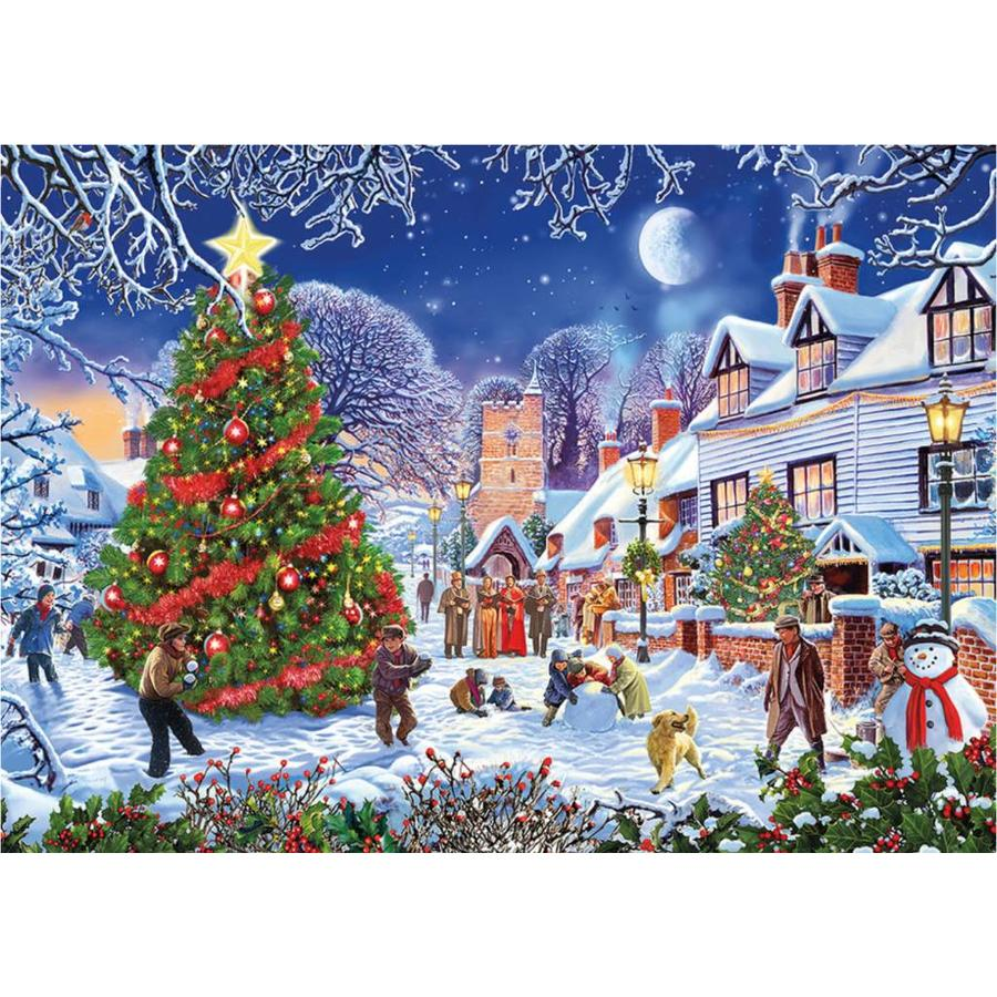 Gibsons Christmas Treats Jigsaw Puzzle 1000 Pieces