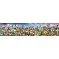 Around the world - puzzle of 42000 pieces