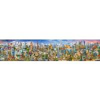 De wereld rond - puzzel van 42000 stukjes