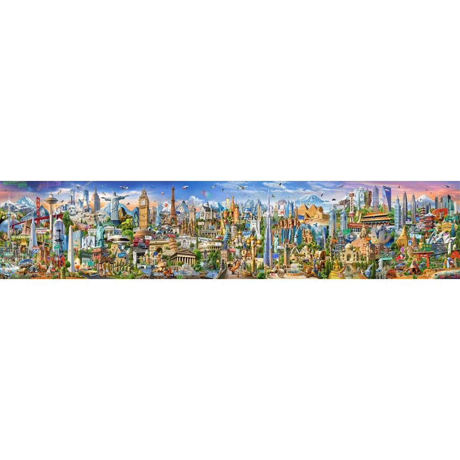 Around the world - puzzle of 42000 pieces-1
