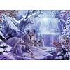Ravensburger Wolven in de winter - legpuzzel van 1000 stukjes