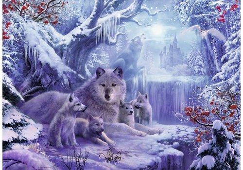 Ravensburger Loups en hiver - 1000 pièces
