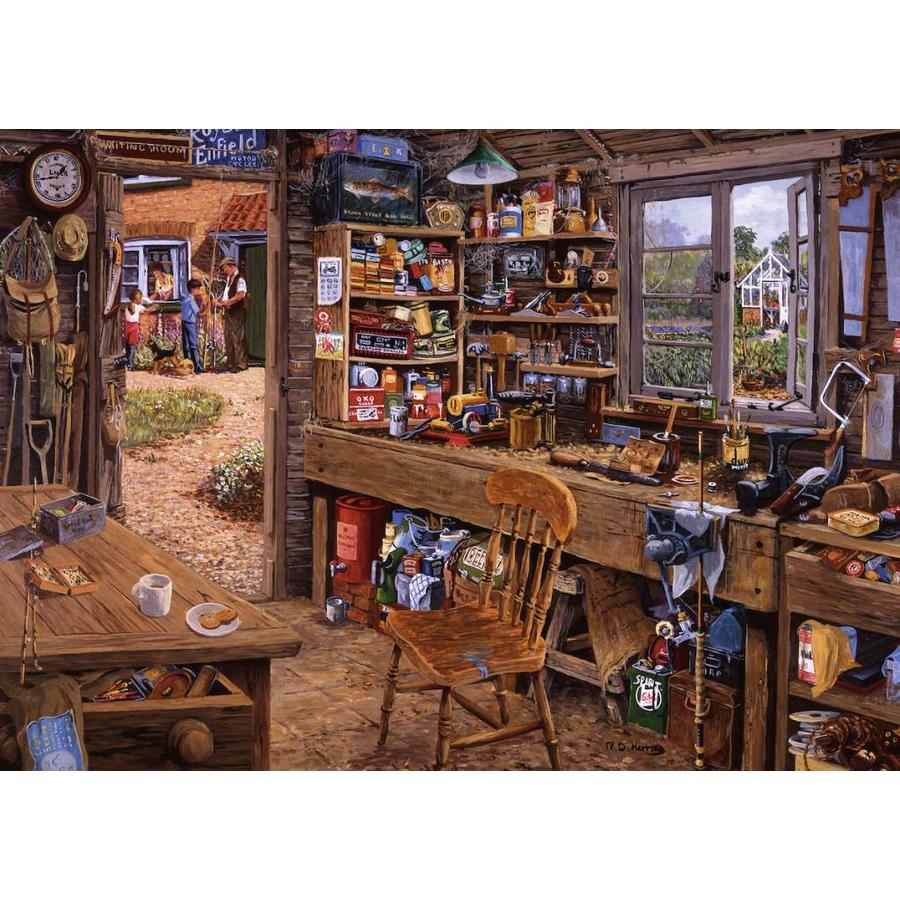 L'abri de grand-père - puzzle de 1000 pièces-1