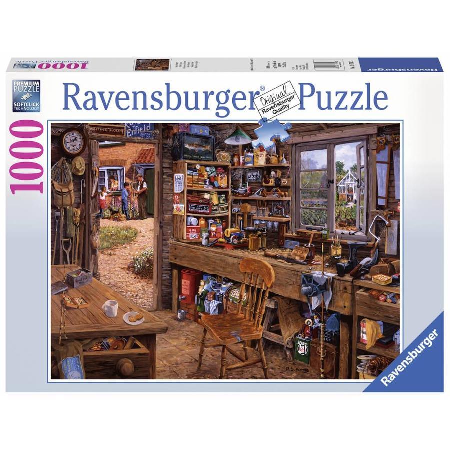 L'abri de grand-père - puzzle de 1000 pièces-2
