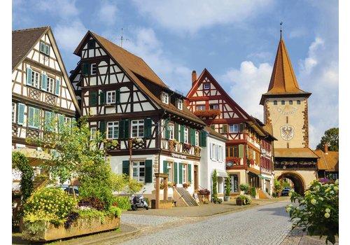Het stadje Gengenbach - 500 XXL stukjes