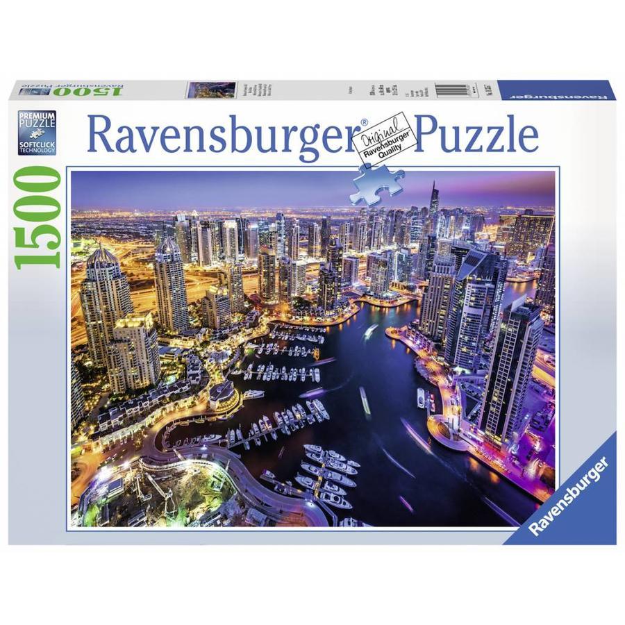 Dubai aan de Perzische Golf - puzzel van 1500 stukjes-2