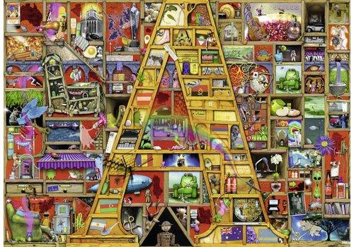 """Awesome Alphabet """"A"""" - 1000 pieces"""