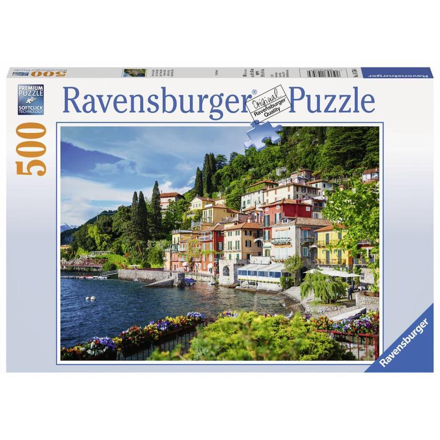 Comomeer in Italië - puzzel van 500 stukjes-2