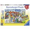 Ravensburger Instappen - 2 puzzels van 12 stukjes