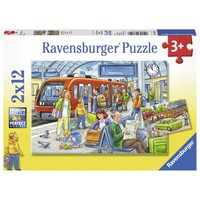 thumb-Instappen - 2 puzzels van 12 stukjes-1