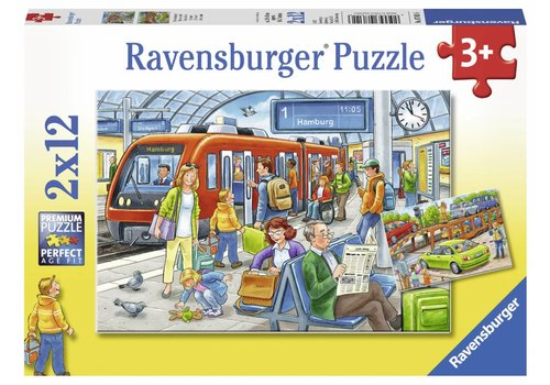 Ravensburger All aboard - 2 x 12 pieces