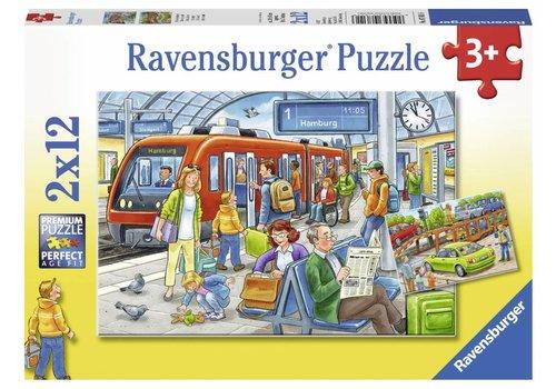 Ravensburger Tout le monde à bord - 2 x 12 pièces