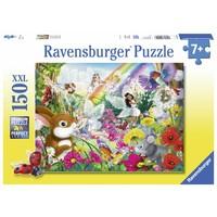 thumb-Fantastische feeën - puzzel van 150 stukjes-2