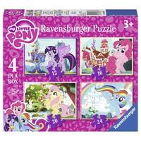 thumb-My Little Pony - 12+16+20+24 stukjes-1