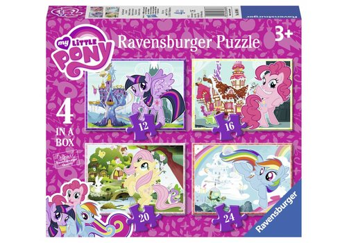 Ravensburger My Little Pony - 12 + 16 + 20 + 24 pièces