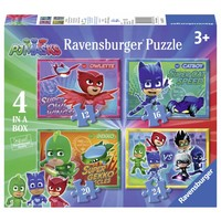 thumb-AT PJ Masks - 12 + 16 + 20 + 24 pieces-1