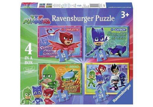 Ravensburger PJ Masks - 12+16+20+24 stukjes