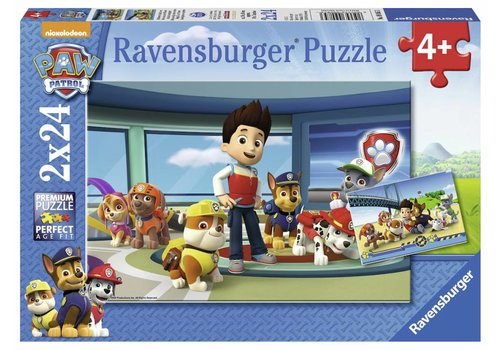 Ravensburger Paw Patrol - 2 x 24 pièces