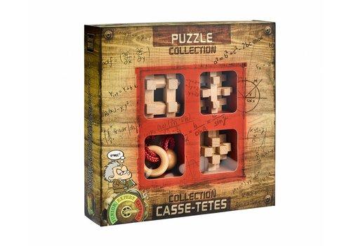 Eureka Extreme*** - 4 houten breinbrekers in doos