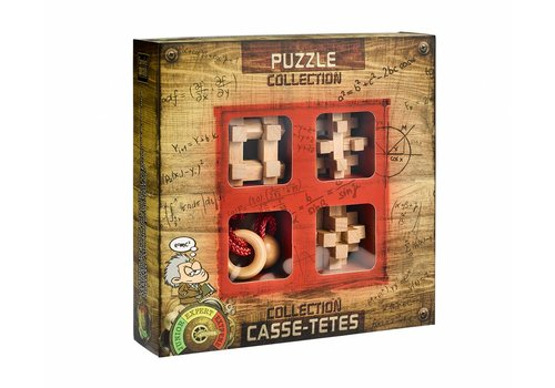 Eureka Extreme *** - 4 wooden brain breakers in box