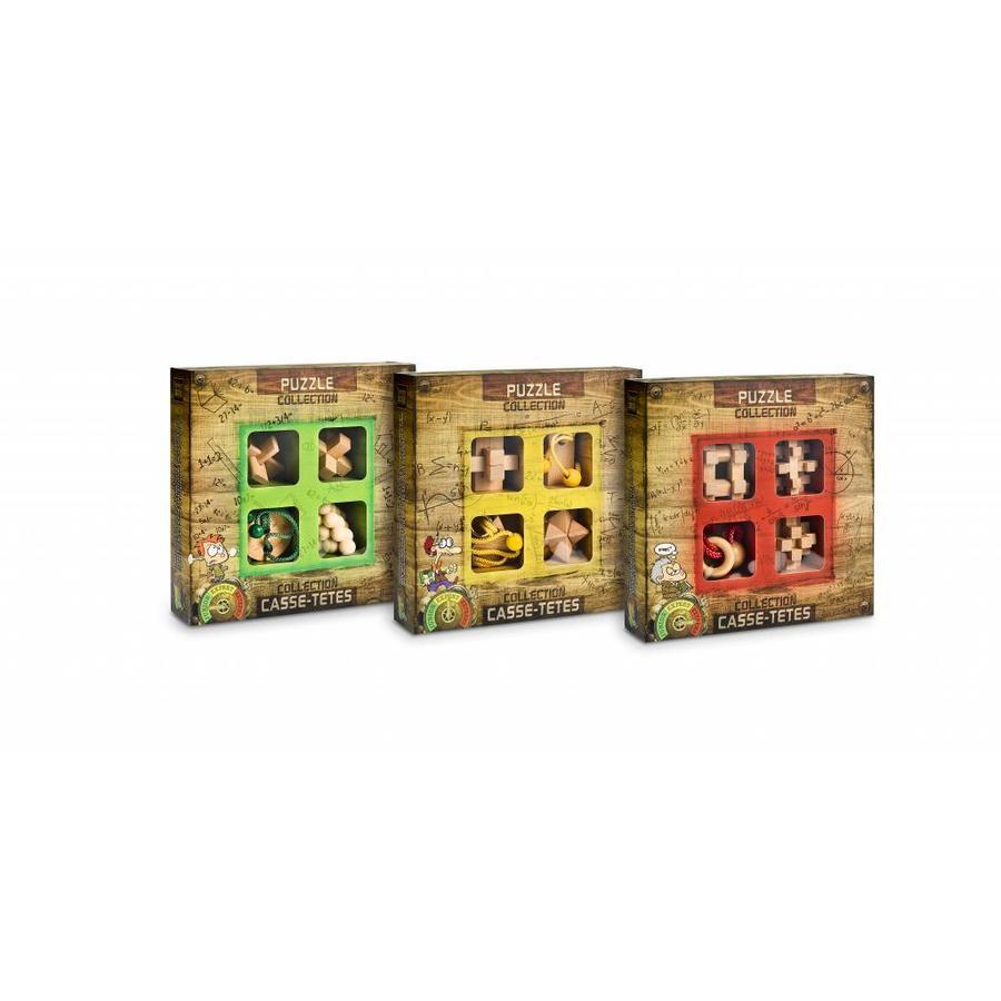 Junior*- 4 houten breinbrekers in doos-6