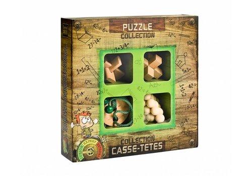 Eureka Junior * - 4 casse-têtes en bois dans la boîte