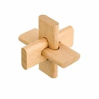 thumb-Junior*- 4 houten breinbrekers in doos-2