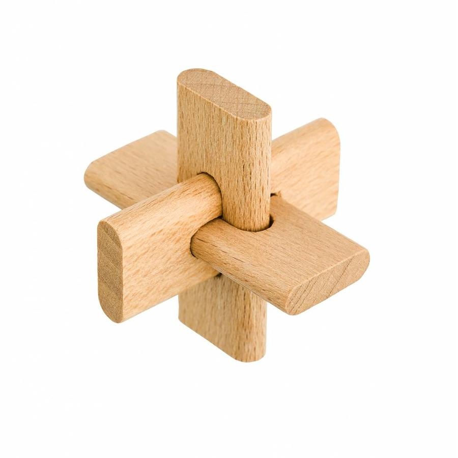 Junior*- 4 houten breinbrekers in doos-2