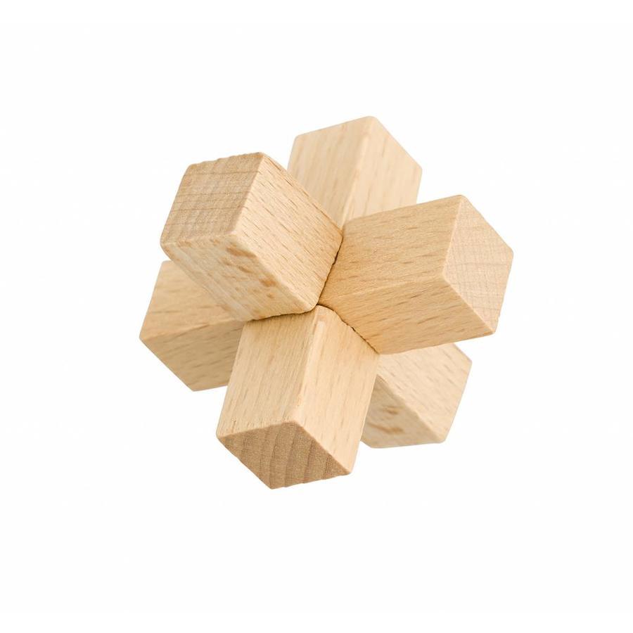 Junior*- 4 houten breinbrekers in doos-3