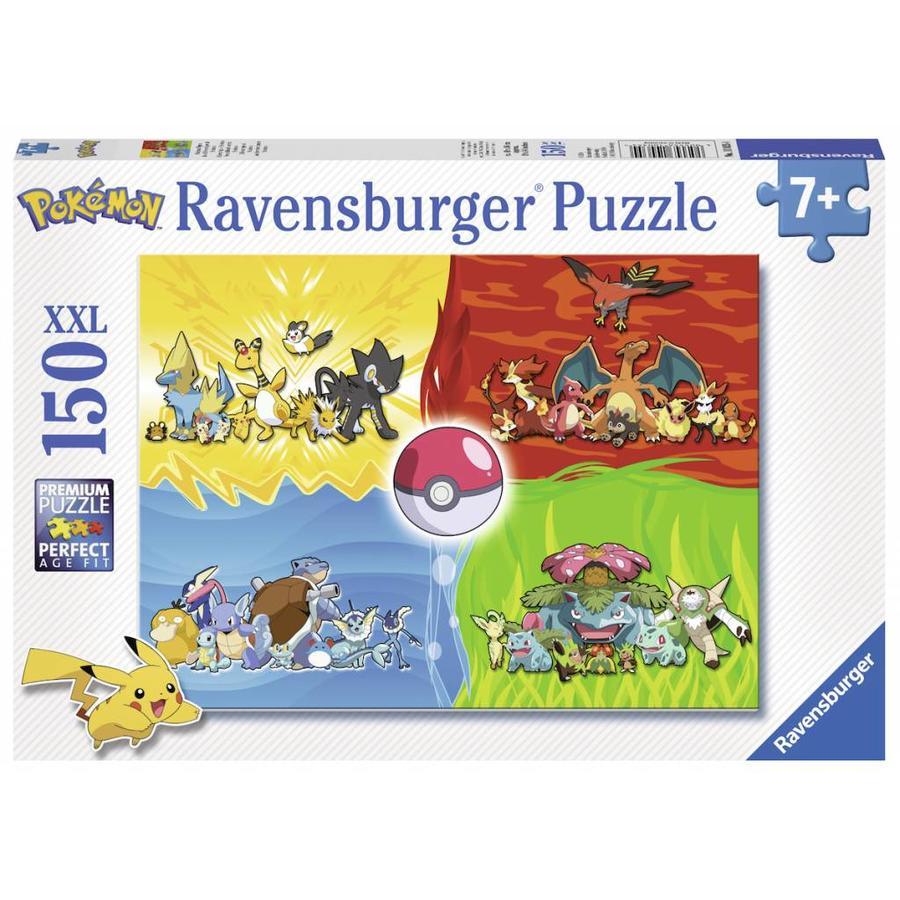 Verschillende Pokémons - puzzel van 150 stukjes-2