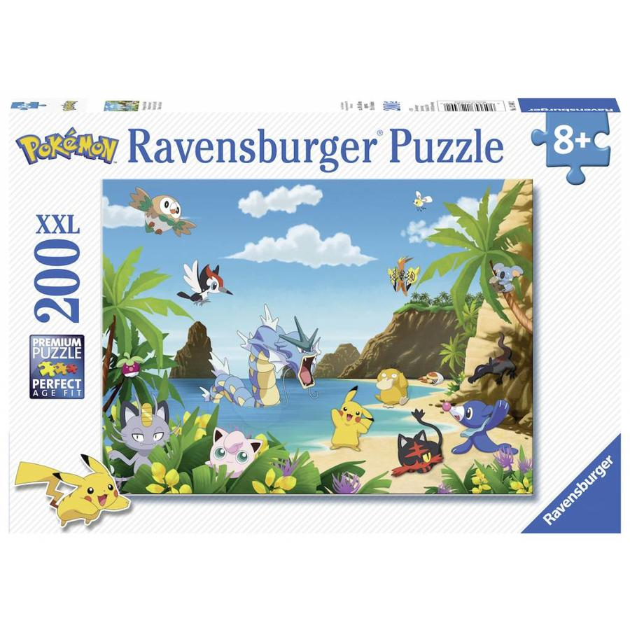 Pokemon - puzzel van 200 stukjes-2