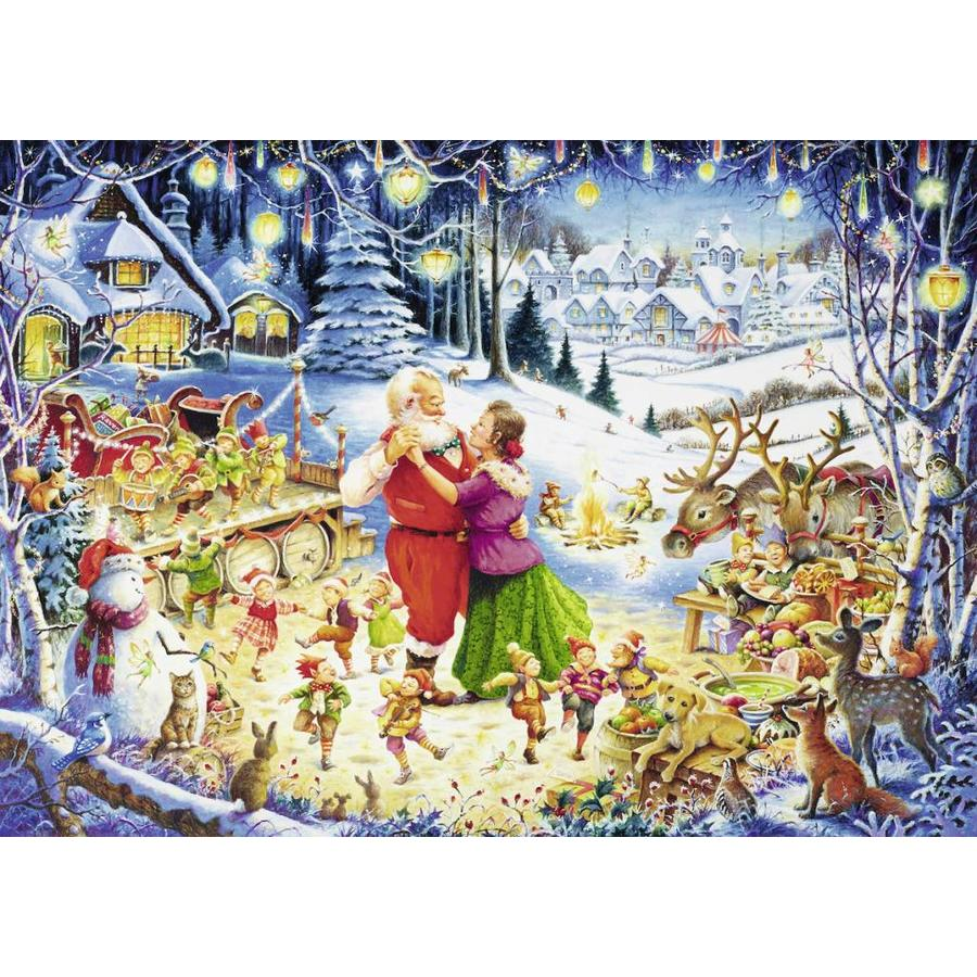Santa's christmas party - 1000 stukjes-2