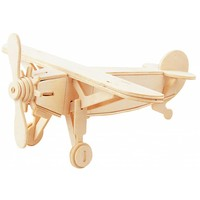 thumb-Vliegtuig - Gepetto's Workshop - 3D puzzel-1