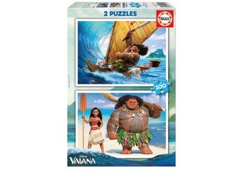 Vaiana - 2 x 100 pieces