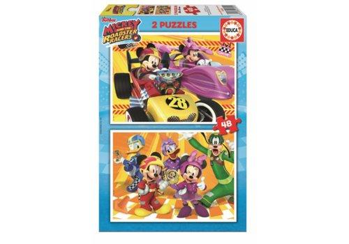Mickey - 2 x 48 stukjes
