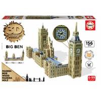thumb-HOUT: Big Ben - 3D monument puzzel - 156 stukjes-1