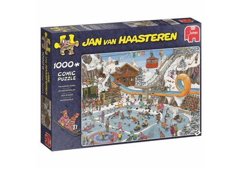 The Winter Games - JvH - 1000 pieces